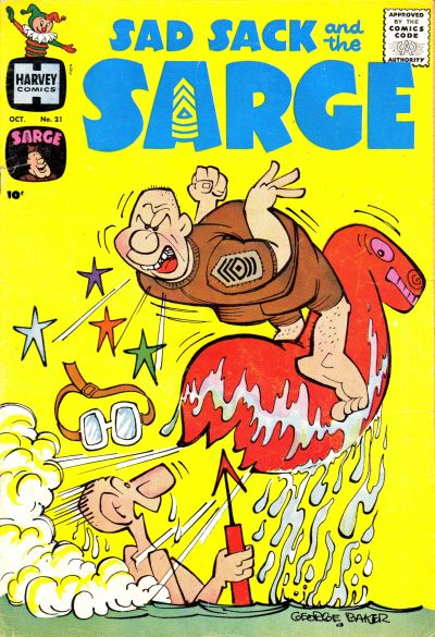 Cover for Sad Sack and the Sarge (Harvey, 1957 series) #21