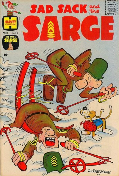 Cover for Sad Sack and the Sarge (Harvey, 1957 series) #24