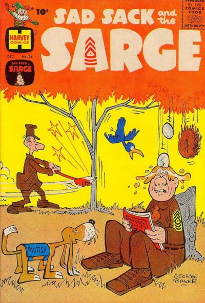 Cover for Sad Sack and the Sarge (Harvey, 1957 series) #28
