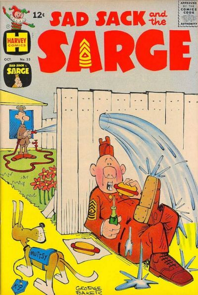 Cover for Sad Sack and the Sarge (Harvey, 1957 series) #33