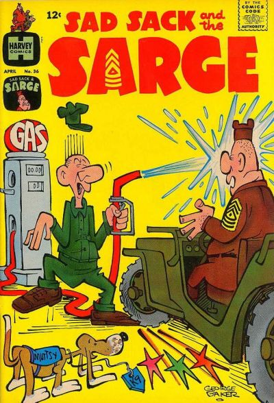 Cover for Sad Sack and the Sarge (Harvey, 1957 series) #36