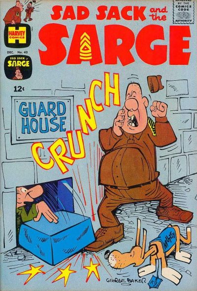 Cover for Sad Sack and the Sarge (Harvey, 1957 series) #40