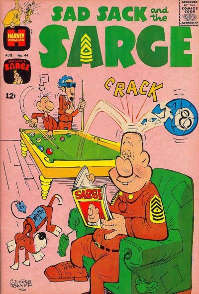 Cover for Sad Sack and the Sarge (Harvey, 1957 series) #44