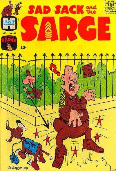 Cover for Sad Sack and the Sarge (Harvey, 1957 series) #46