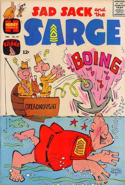 Cover for Sad Sack and the Sarge (Harvey, 1957 series) #47