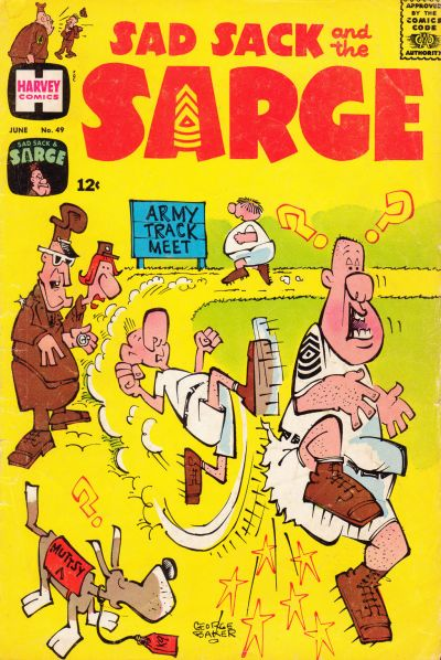 Cover for Sad Sack and the Sarge (Harvey, 1957 series) #49