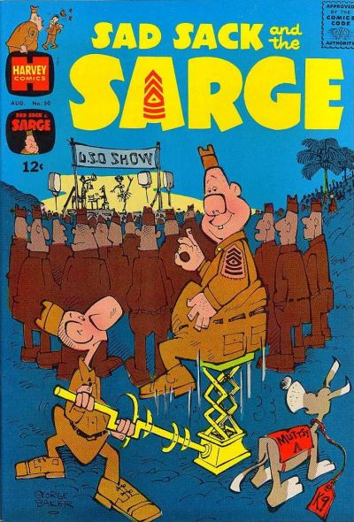 Cover for Sad Sack and the Sarge (Harvey, 1957 series) #50