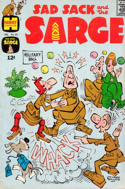 Cover for Sad Sack and the Sarge (Harvey, 1957 series) #53