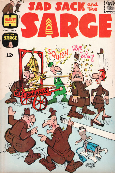 Cover for Sad Sack and the Sarge (Harvey, 1957 series) #61