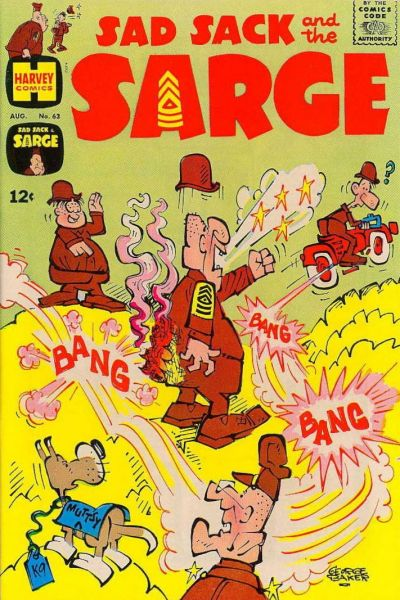 Cover for Sad Sack and the Sarge (Harvey, 1957 series) #63