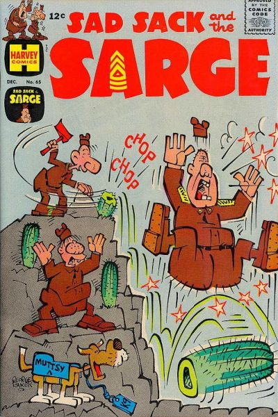 Cover for Sad Sack and the Sarge (Harvey, 1957 series) #65