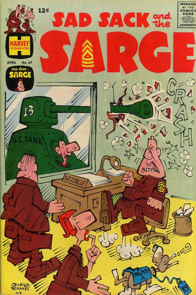 Cover for Sad Sack and the Sarge (Harvey, 1957 series) #67