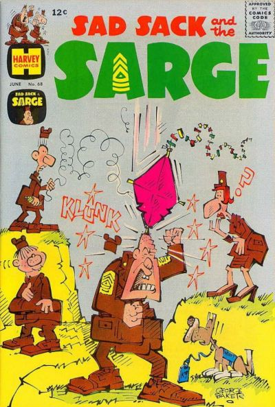 Cover for Sad Sack and the Sarge (Harvey, 1957 series) #68