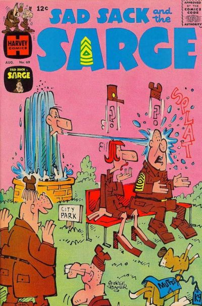 Cover for Sad Sack and the Sarge (Harvey, 1957 series) #69