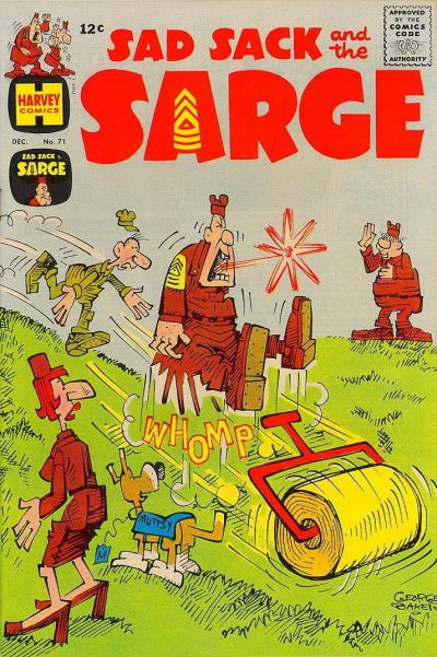 Cover for Sad Sack and the Sarge (Harvey, 1957 series) #71