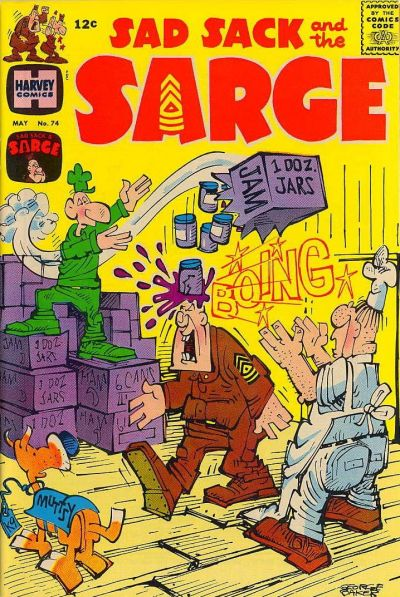 Cover for Sad Sack and the Sarge (Harvey, 1957 series) #74