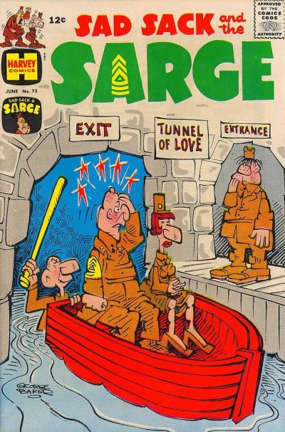 Cover for Sad Sack and the Sarge (Harvey, 1957 series) #75