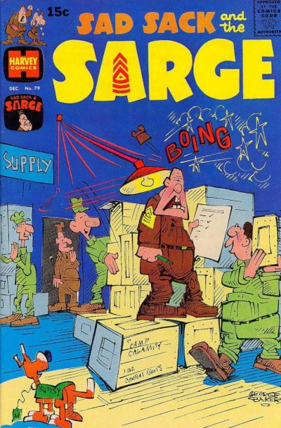 Cover for Sad Sack and the Sarge (Harvey, 1957 series) #79