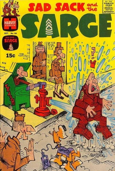 Cover for Sad Sack and the Sarge (Harvey, 1957 series) #84