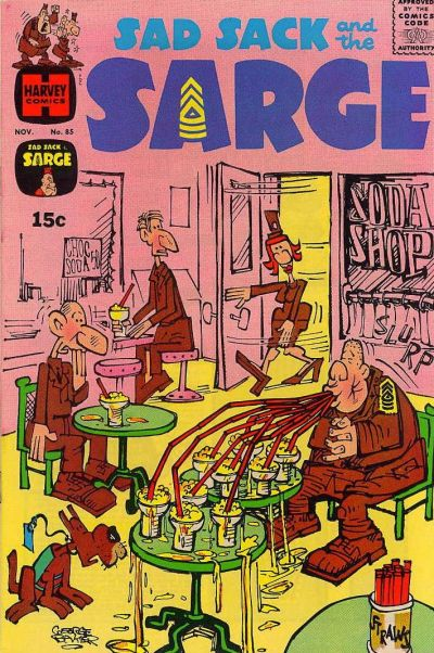 Cover for Sad Sack and the Sarge (Harvey, 1957 series) #85