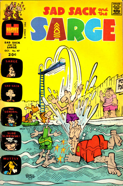 Cover for Sad Sack and the Sarge (Harvey, 1957 series) #97