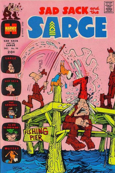 Cover for Sad Sack and the Sarge (Harvey, 1957 series) #98