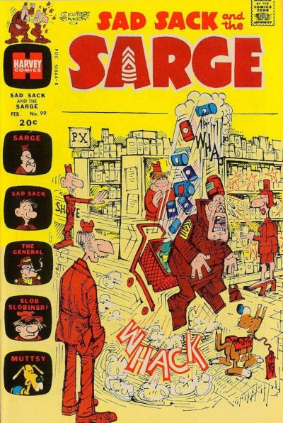 Cover for Sad Sack and the Sarge (Harvey, 1957 series) #99
