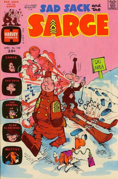 Cover for Sad Sack and the Sarge (Harvey, 1957 series) #106