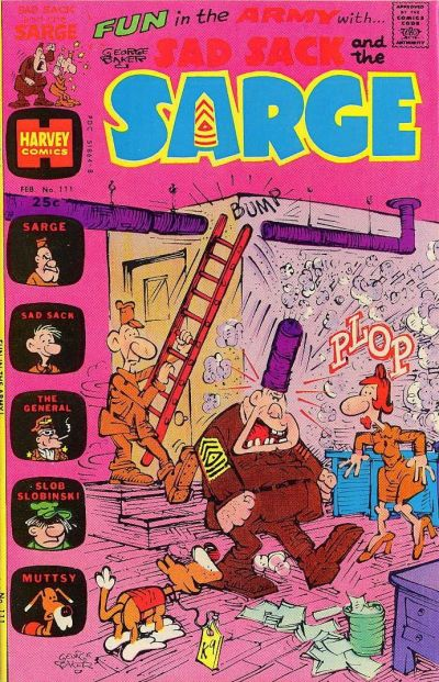 Cover for Sad Sack and the Sarge (Harvey, 1957 series) #111