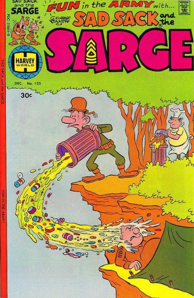 Cover for Sad Sack and the Sarge (Harvey, 1957 series) #122