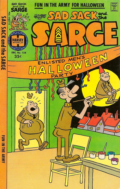 Cover for Sad Sack and the Sarge (Harvey, 1957 series) #128