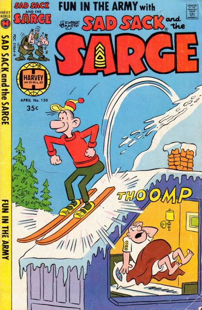 Cover for Sad Sack and the Sarge (Harvey, 1957 series) #130