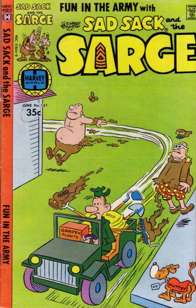Cover for Sad Sack and the Sarge (Harvey, 1957 series) #131