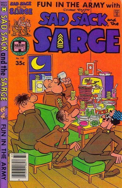 Cover for Sad Sack and the Sarge (Harvey, 1957 series) #137