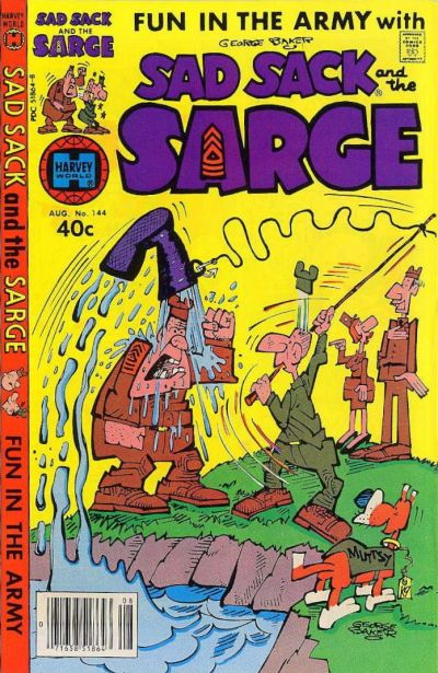 Cover for Sad Sack and the Sarge (Harvey, 1957 series) #144