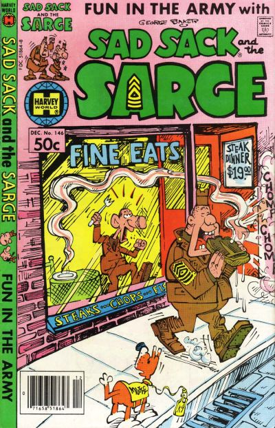 Cover for Sad Sack and the Sarge (Harvey, 1957 series) #146