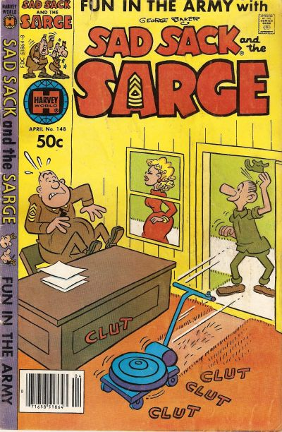 Cover for Sad Sack and the Sarge (Harvey, 1957 series) #148