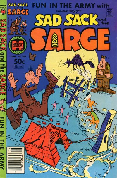 Cover for Sad Sack and the Sarge (Harvey, 1957 series) #149