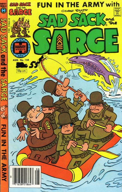 Cover for Sad Sack and the Sarge (Harvey, 1957 series) #150