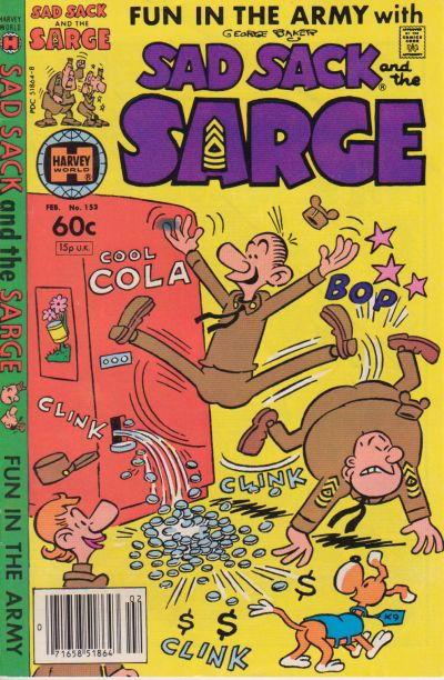 Cover for Sad Sack and the Sarge (Harvey, 1957 series) #153