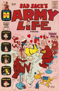 Cover Thumbnail for Sad Sack's Army Life Parade (Harvey, 1963 series) #10