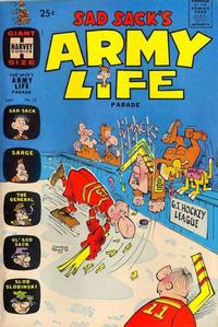 Cover Thumbnail for Sad Sack's Army Life Parade (Harvey, 1963 series) #12