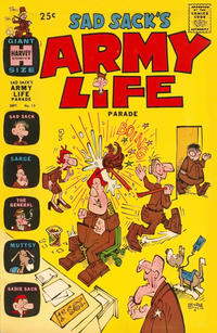 Cover Thumbnail for Sad Sack's Army Life Parade (Harvey, 1963 series) #13