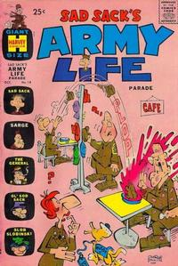 Cover Thumbnail for Sad Sack's Army Life Parade (Harvey, 1963 series) #14
