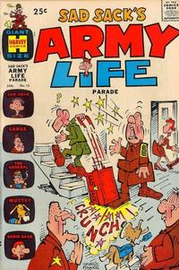 Cover Thumbnail for Sad Sack's Army Life Parade (Harvey, 1963 series) #15