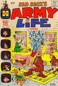 Cover Thumbnail for Sad Sack's Army Life Parade (Harvey, 1963 series) #18