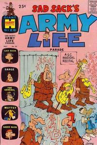 Cover Thumbnail for Sad Sack's Army Life Parade (Harvey, 1963 series) #20