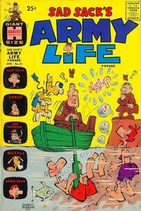 Cover Thumbnail for Sad Sack's Army Life Parade (Harvey, 1963 series) #21