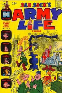 Cover Thumbnail for Sad Sack's Army Life Parade (Harvey, 1963 series) #23