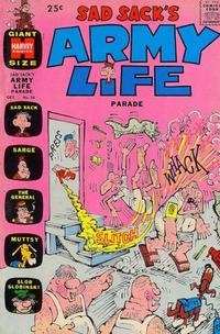Cover Thumbnail for Sad Sack's Army Life Parade (Harvey, 1963 series) #36